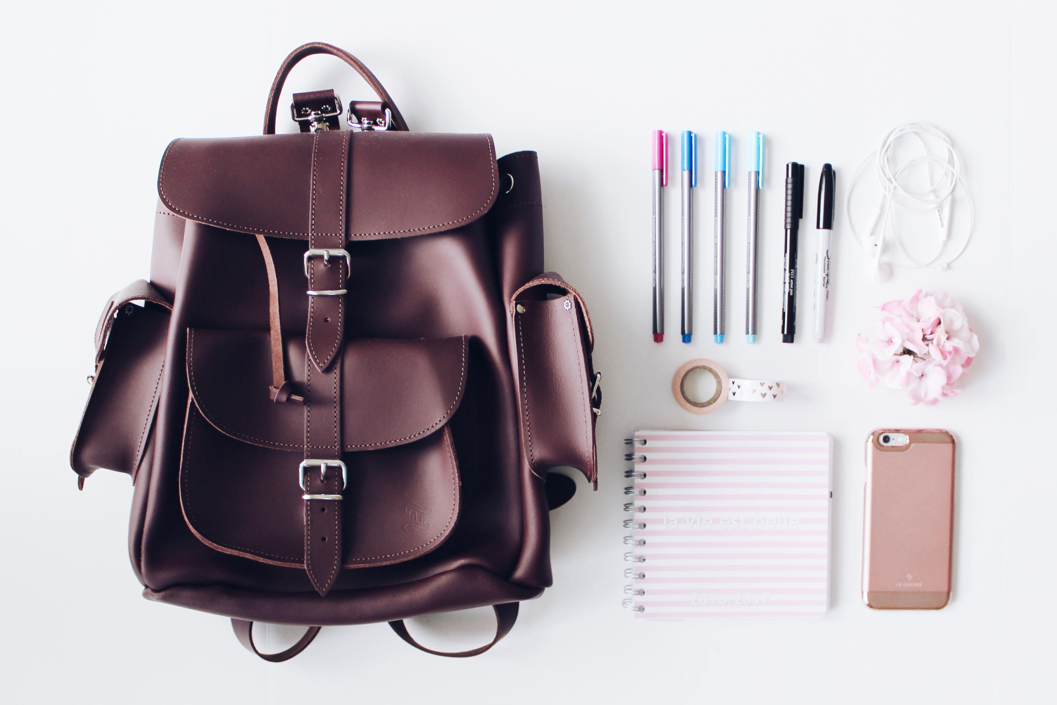 Back to School: In My Backpack